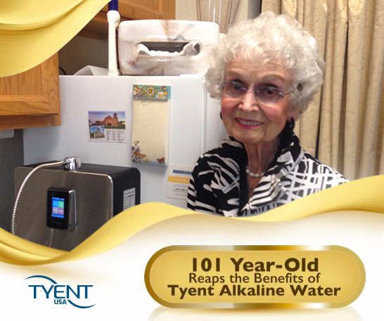 Alkaline Water and Aging – Reaping the Benefits at 101 Years Old! [Updated]