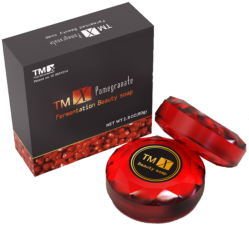 Tyent TMX Fermented Pomegranate Beauty Soap